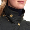 Barbour Icons Ladies Beaufort Wax Jacket Sage 4