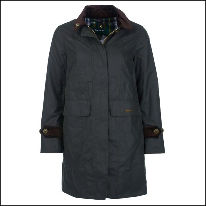 Barbour Icons Ladies Haydon Wax Jacket Olive 1