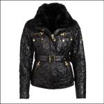 Barbour Icons Ladies International Polarquilt Jacket Black 1