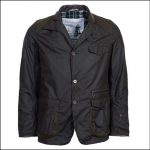 Barbour Icons Men's Beacon Sports Wax Jacket Olive 1
