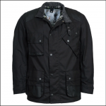 Barbour Icons Men's International Wax Jacket Black 1