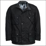 Barbour Icons Men's International Wax Jacket Black 1