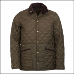 Barbour Icons Men's Liddesdale Quilted Jacket Olive 1
