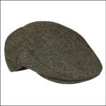 Barbour Moons Tweed Flat Cap Olive 1