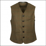 Barbour Moorhen Tweed Wool Waistcoat 1