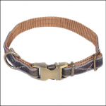 Barbour Reflective Tartan Dog Collar 1