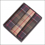 Barbour Tartan Pocket Squares
