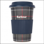 Barbour Tartan Reusable Travel Mug 1