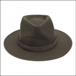 Barbour Wax Bushman Hat Olive 1