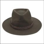 Barbour Wax Bushman Hat Olive 1