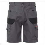 Castle Tuffstuff Elite Work Shorts Grey
