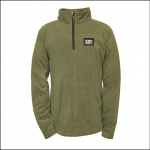 Caterpillar Mens AG Fleece Pullover Cypress Green
