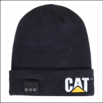 Caterpillar Bluetooth Thermal Black Beanie