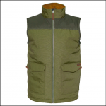 Caterpillar Zip Up Vest Cypress Green