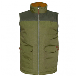 Caterpillar Zip Up Vest Cypress Green 1