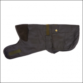 Barbour 2 in 1 Waxed Dog Coat 1