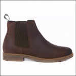 Barbour Farsley Chocolate Chelsea Boots 1