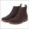 Barbour Farsley Chocolate Chelsea Boots 3