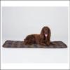 Barbour Medium Classic Tartan-Brown Dog Blanket 2