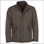 Barbour Powell Olive Quilted Jacket 1