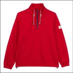 Joules Bewley Casual Half Zip Sweatshirt Red 1