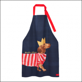 Joules Christmas Cotton Apron with Adjustable Ties 1