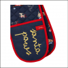 Joules Christmas Cotton Double Oven Gloves 2