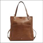 Joules Hallaton Tan Leather Rucksack 1