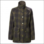 Musto Abbeystead Ladies BR1 Oilcloth Check Jacket 1