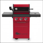 Sahara X350 3 Burner Gas Barbecue with Rotisserie