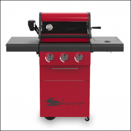Sahara X350 3 Burner Gas Barbecue with Rotisserie 1