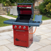 Sahara X350 3 Burner Gas Barbecue with Rotisserie 2