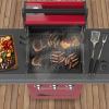 Sahara X350 3 Burner Gas Barbecue with Rotisserie 3