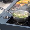 Sahara X350 3 Burner Gas Barbecue with Rotisserie 5