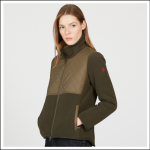 Aigle Women's Polarfield Fleece Jacket Bronze-Pebble 1