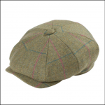 Alan Paine Combrook Ladies Juniper Tweed Country Cap