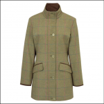 Alan Paine Combrook Ladies Juniper Tweed Field Jacket 1