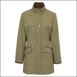 Alan Paine Combrook Ladies Juniper Tweed Field Jacket 1