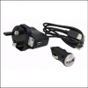 Clulite Club FL Clu-Briter Flame LED Rechargeable Spotlight 2