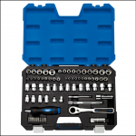 Draper 16483 Go Through 71pc Combined MM-AF Socket Set 1
