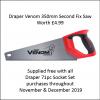 Draper 16483 Go Through 71pc Combined MM-AF Socket Set Nov-Dec Special