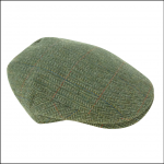 Hoggs of Fife Helmsdale Tweed Flat Cap 1