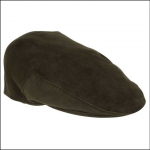 Hoggs of Fife Waterproof Moleskin Cap Dark Olive 1