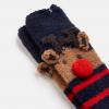 Joules Festive Fluffy Reindeer Socks 2