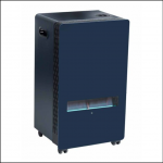 Lifestyle Azure 3.8kW Blue Flame Cabinet Heater 1