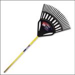 Spear & Jackson Ergowide Plastic Leaf Rake 1