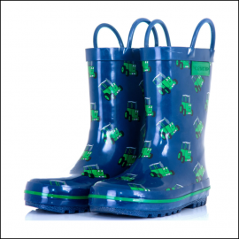 Tractor Ted Children's Welly Boots Navy 1