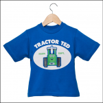 Tractor Ted Happy Ted T Shirt Blue 1