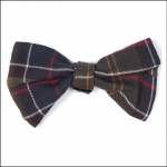 Barbour Tartan Dog Bow Tie 1