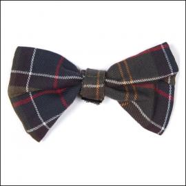 Barbour Tartan Dog Bow Tie 1
